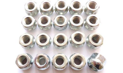 20 tuercas de rueda abierta m12 x 1.5 bala federal acero llantas llantas de aluminio honda civic Accord