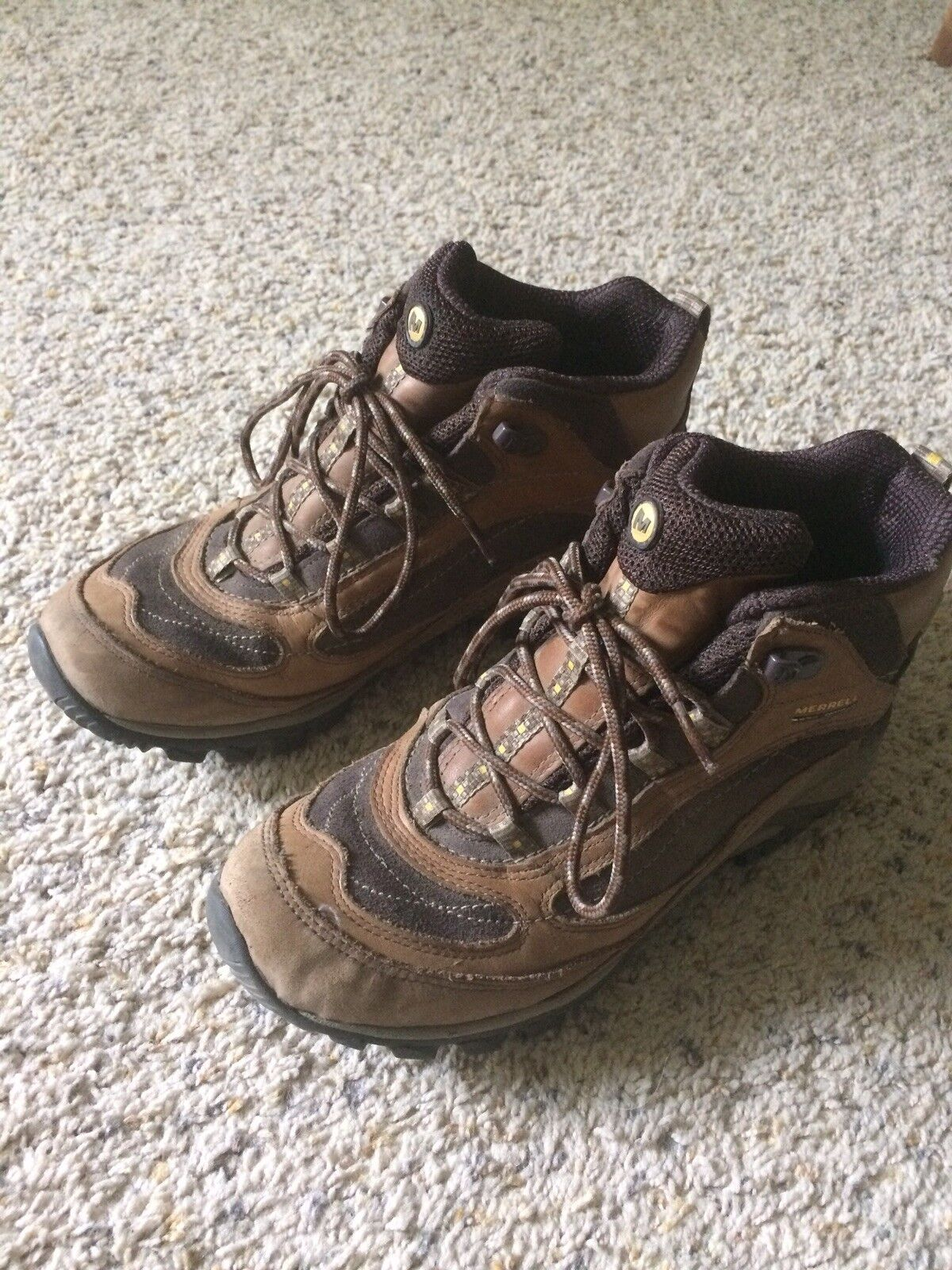 Merrell Siren waterproof hiking boots Size 8.5 Women
