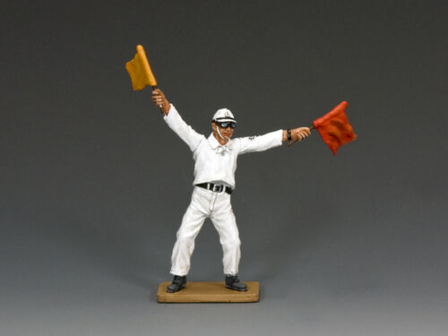 JN004 Flight Deck Flag Man by King /& Country RETIRED