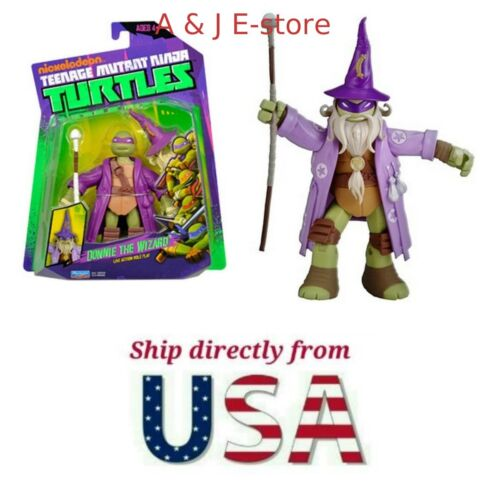 "LARP Donatello The Wizard 4/"" Figure SELLER Teenage Mutant Ninja Turtles U.S"