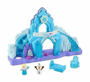 Little-People-GGV29-Fisher-Price-Disney-Frozen-Elsa-039-s-Ice-Palace-Musical-Lig
