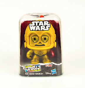 C-3PO-Mighty-Muggs-Star-Wars-Force-Awakens-EP7-Hasbro-Vinyl-Figure-NEW-in-Stocks