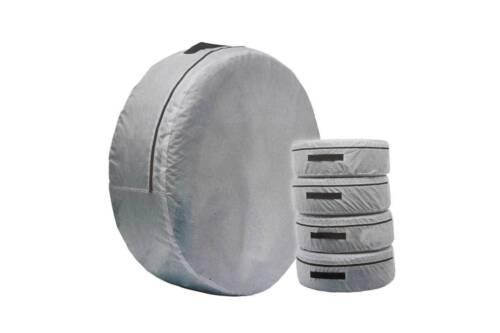 1 x rueda de repuesto de almacenamiento llevar Neumático Bolsa De Cubierta De Protección Space Saver Gris Nuevo