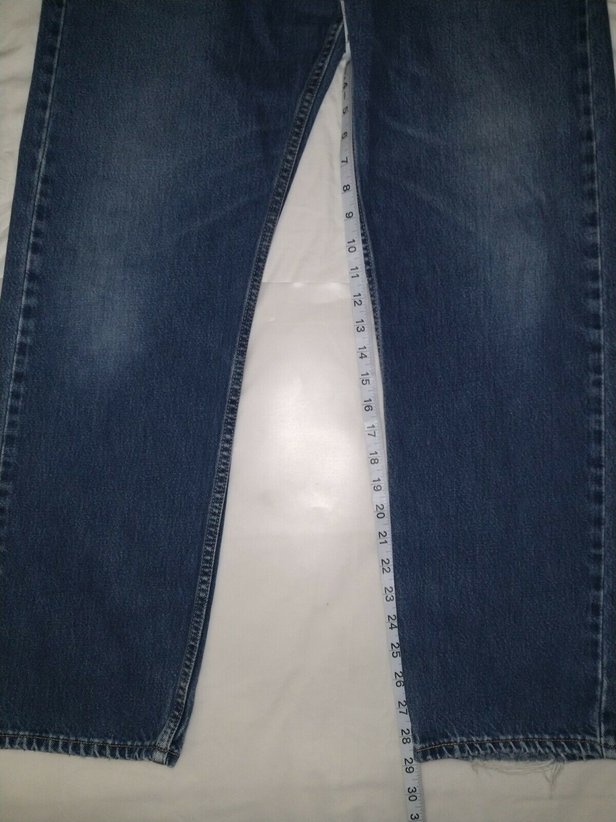 Levi's 505 Jean's Made in the USA Men's size 36x3… - image 4