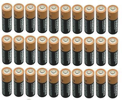 Duracell 30 AA Alkaline Batteries, Exp. 2018 & 2019 Bulk Pack