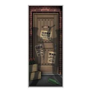 Image is loading Roaring-20-039-s-Gatsby-SPEAKEASY-PROHIBITION-DOOR-  sc 1 st  eBay & Roaring 20u0027s Gatsby SPEAKEASY PROHIBITION DOOR COVER Party ...