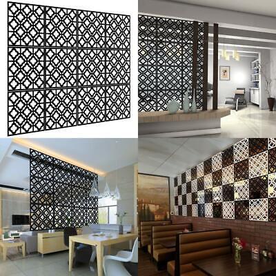 Kernorv Hanging Room Divider Decorative Screen Panels Made Of Pvc Black 02 Ebay