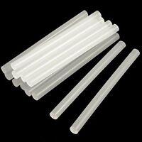 """12 Hot Melt Mini Glue Stick 0.27 x 4"""" Clear White (Pack of 12, 7x100mm Glue Gun)"""