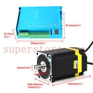 32 Bit Chip 570oz-in Closed Loop Stepper Motor Nema24  Upgrade Digital DSP Drive