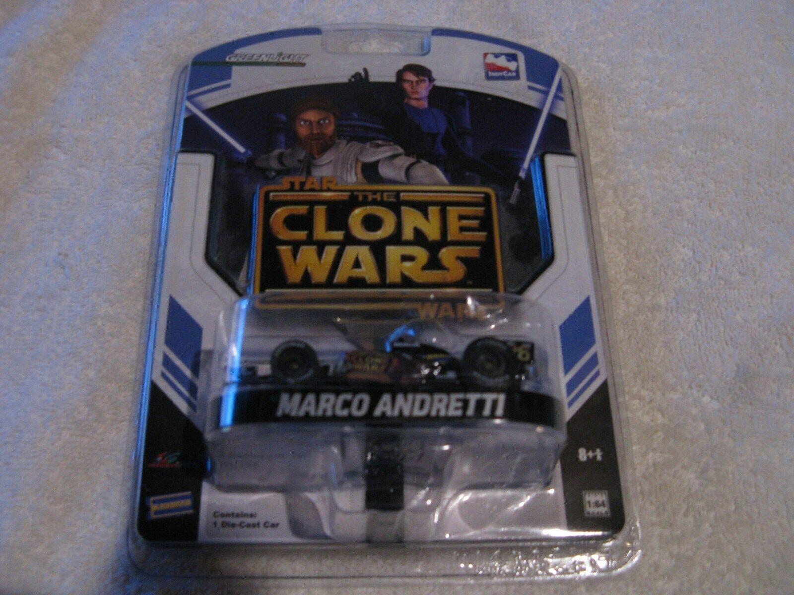 Marco Andretti Star Wars Clone Wars Formula 1 Diecast -   5687 RARE