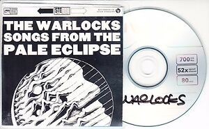 THE-WARLOCKS-Songs-From-The-Pale-Eclipse-2016-UK-10-track-promo-test-CD