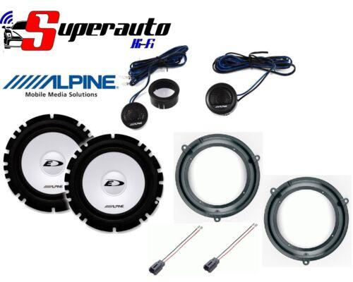Altoparlanti Alpine Kit 4 Casse per Fiat Panda dal 2003 al 2012 Anteriore auto