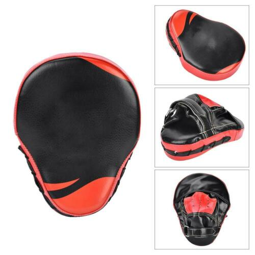 Boxing Mitt Training Punch Pad Kick Hand Target Glove Focus MMA Muay Thai Train
