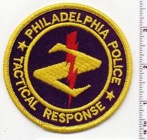 Philadelphia Police (Pennsylvania) Tactical Response Shoulder Patch 1980's