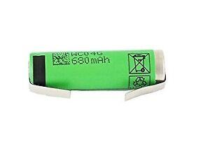 Rechargable-battery-14500-AA-3-7V-680mAh-Li-Ion-soldered-SONY-US14500VR2