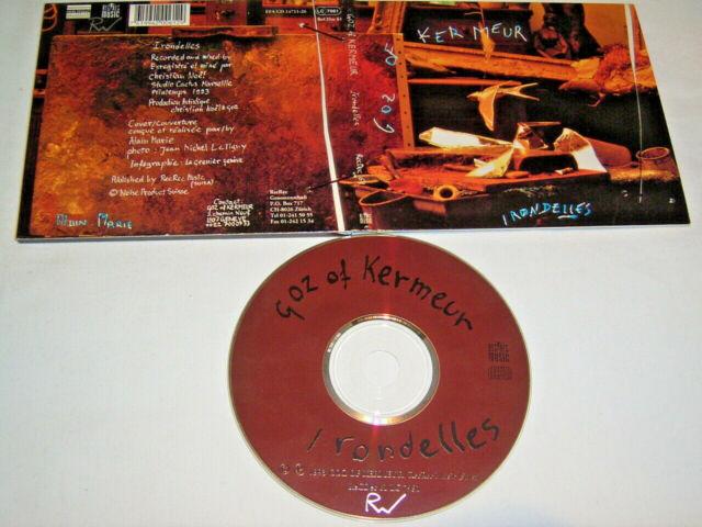 CD - Goz of Kermeur Irondelles - Digipak # S20