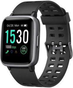 Yamay Smartwatch Fitness Tracker mit Pulsmesser Wasserdicht IP68 Touch Screen