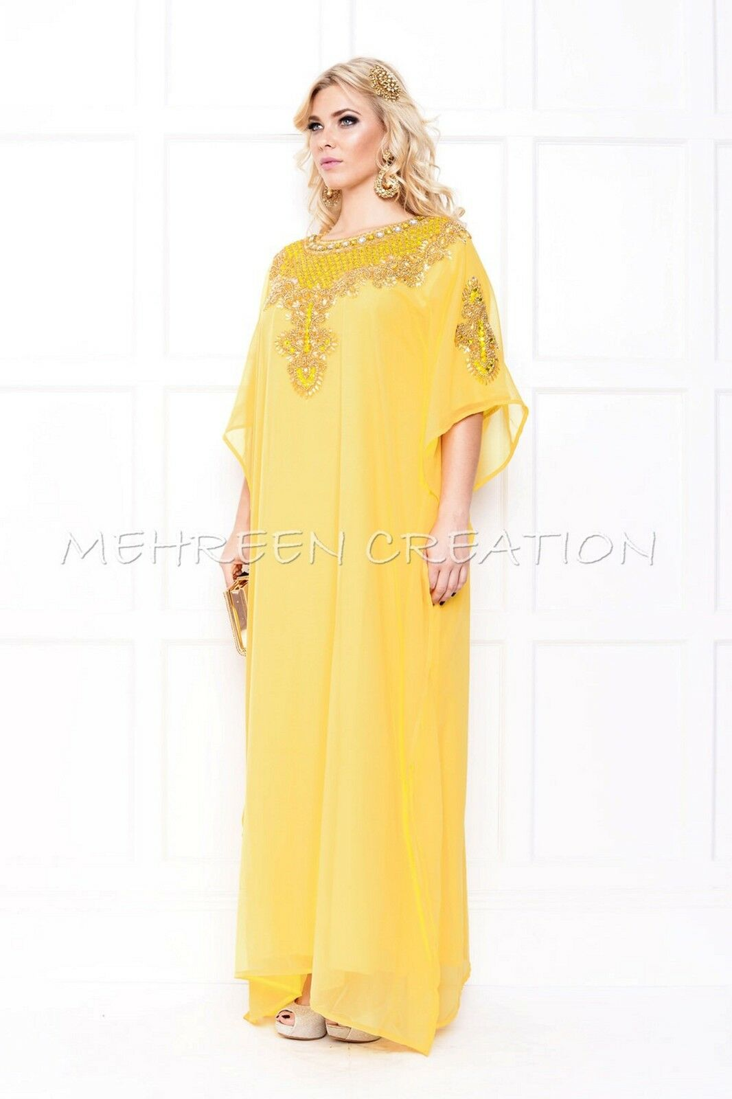 DUBAI TRADITIONAL BUTTERFLY STYLE MODERN UNIQUE DESIGN FOR WOMEN PARTY WEAR 4859