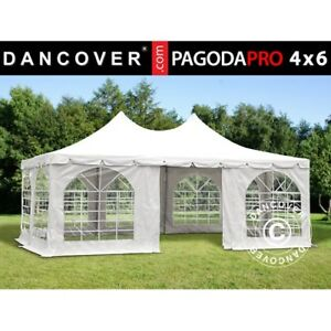 marquee party tent 4x6 m pvc garden gazebo 4m x 6m canopy pagoda