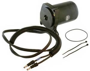 tilt trim motor for mercury mariner v6 rear fill 2 wire 2 bolt rh ebay com