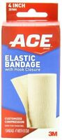 Ace Elastic Bandage With Hook Closure, 4 Inch, 1 Each on Sale