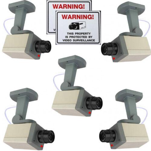 FAKE SECURITY DUMMY CAM CCD AUTO IRIS ZOOM CCTV CAMERAS