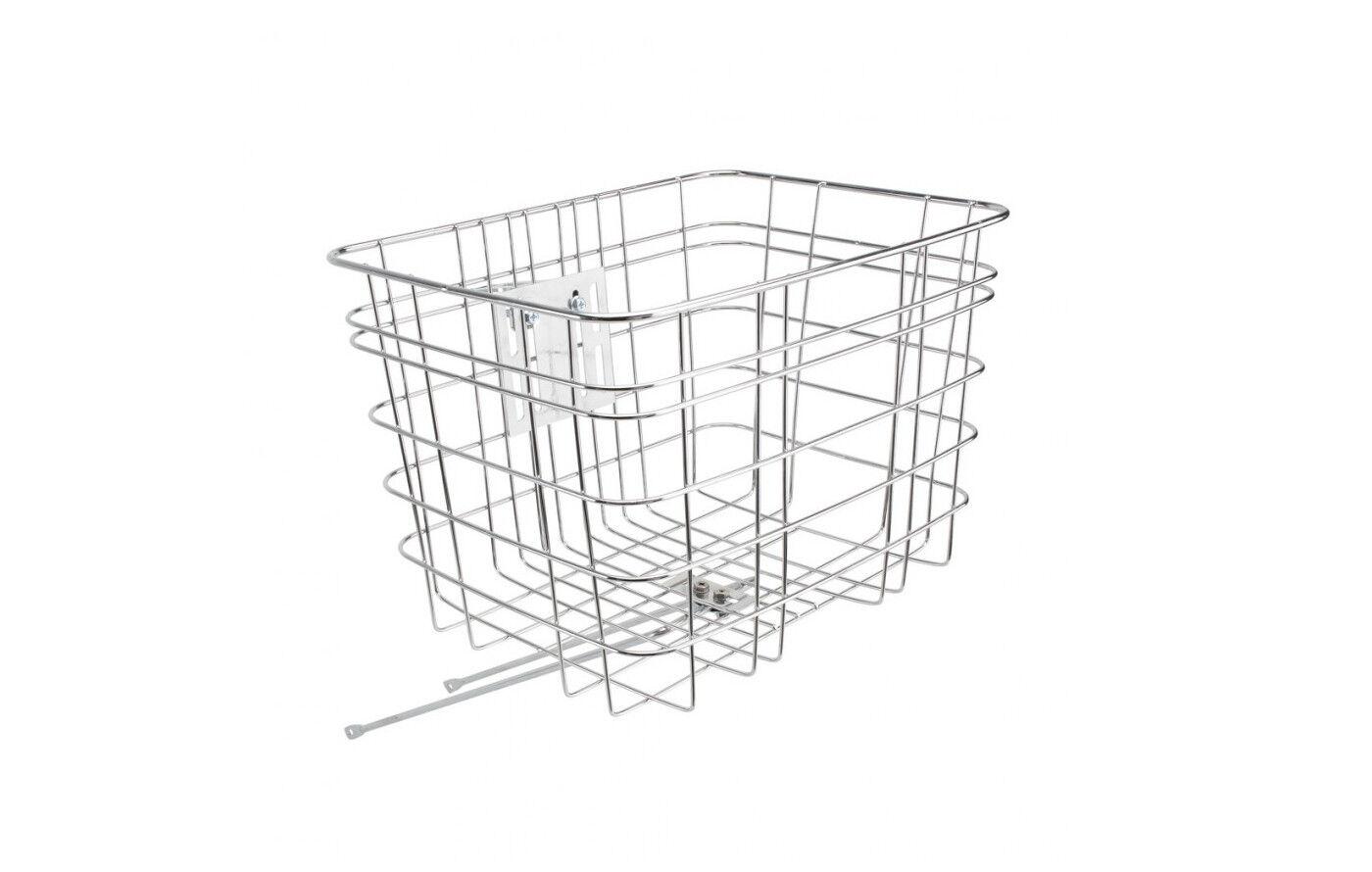 Electra Stainless Steel Wire Basket, Front Korb Fahrradkorb vorne, Vorderrad