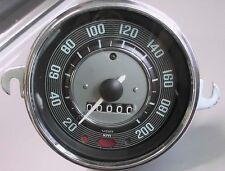 VW Maggiolino Karmann ghiatacho TACHOMETER SPEEDO fino a 200 km/h