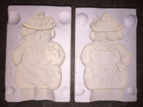 Vintage Alberta/'s Mrs Snowman Slip Casting Ceramic Porcelain Clay Pottery Mold