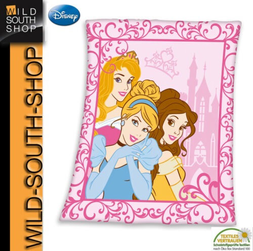 XL Disney Princess Princesse Polaire Couverture Couverture Couverture 130x160cm Nouveau Herding