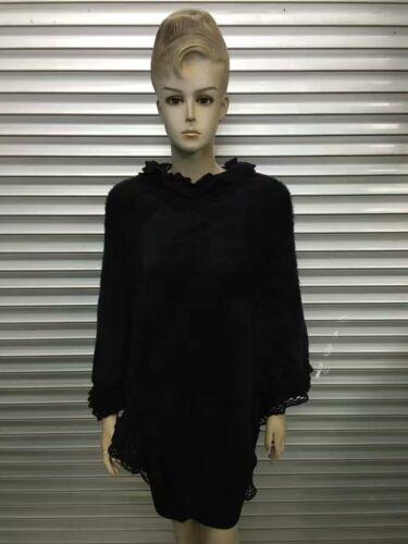 Women Poncho Stole Cape Shrug Wrap Shawl Jacket Jumper Lace Layers Feminine New