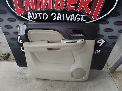 2012 Gmc Sierra Yukon Denali Driver Rear Door Panel Ebay