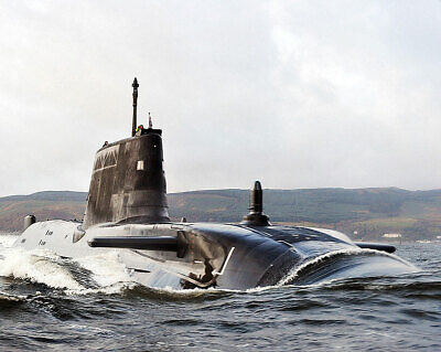Collectibles Radient Hms Astute Submarine Sails Clyde Estuary 11x14 Silver Halide Photo Print Easy To Use