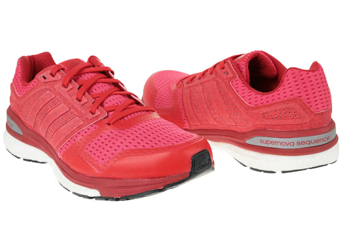 ADIDAS SUPERNOVA Boost s78292 Scarpe da ginnastica corsa running scarpe da ginnastica uomo ROSSO rosso