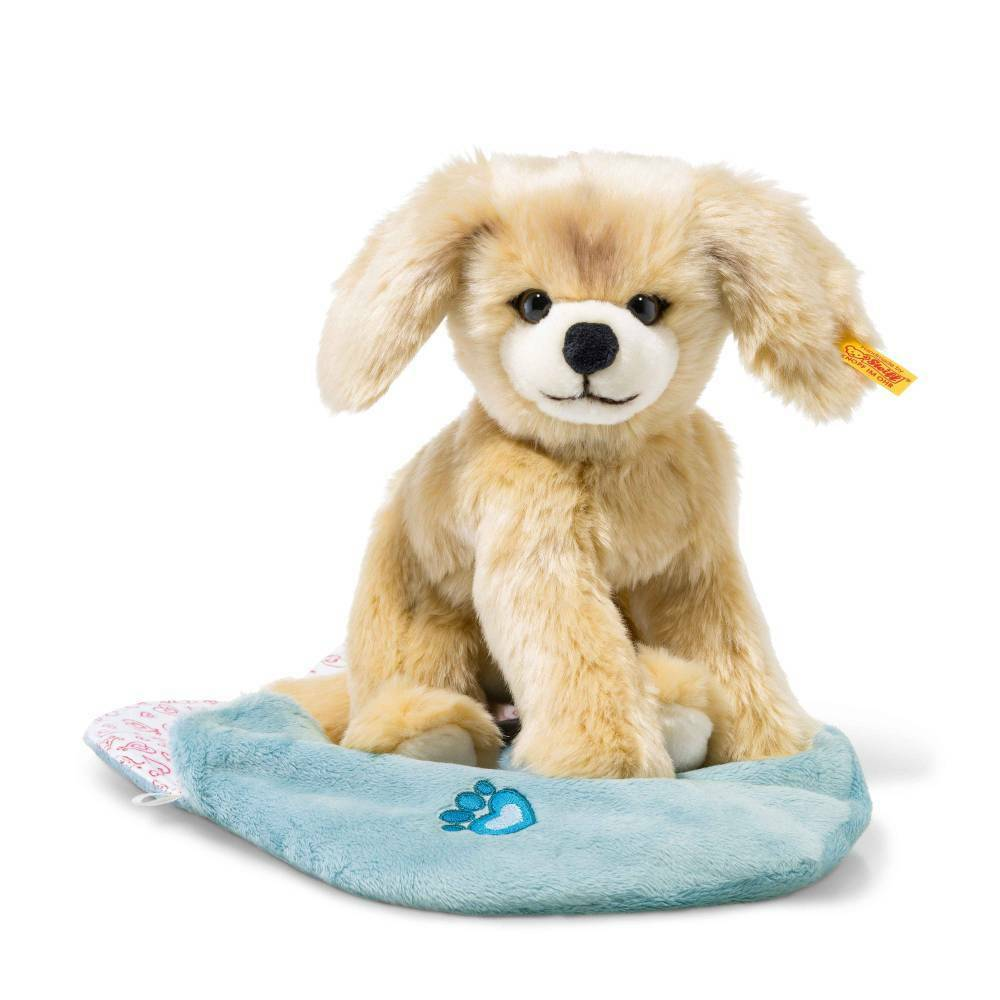 STEIFF 077043 Kelly Hund 22cm 22cm 22cm blond im Herzbeutel Plüsch ba93db