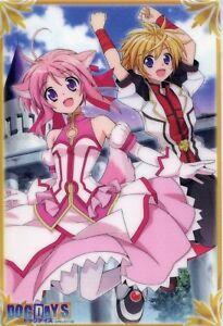 Free Shipping Anime Dog Days Ricotta Elmar And Eclair