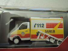 Herpa 046305 MB Sprinter Koffer RTW Samur Protection Civil  OVP aus Sammlung (6)