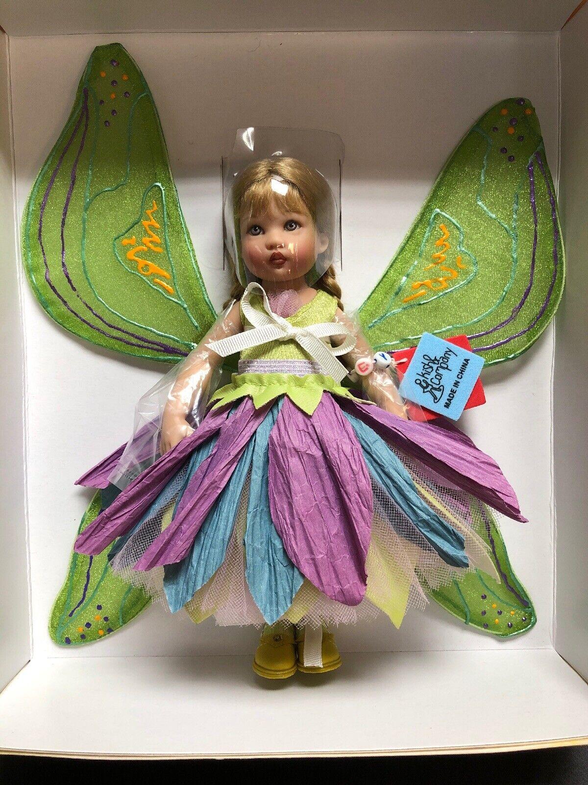 """7.5"""" Helen Kish Artist Doll Riley Fniedriger Fairy UFDC 2004 LE 500 Convention NRFB"""