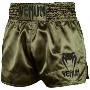 Venum Classic Thai Shorts - Green, S-XXL für Muay Thai, Kickboxen und MMA Hose