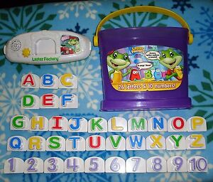 LeapFrog Letter Factory Phonics & Numbers 1 to 10 Alphabet A to Z