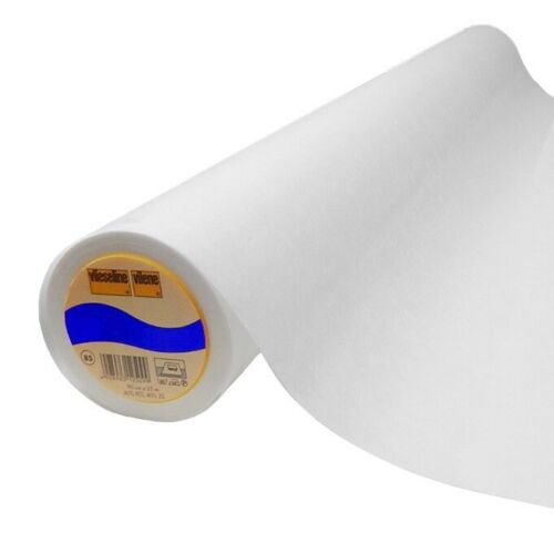 Vlieseline S320 weiß 45cm x 25m Schabrackeneinlage ROLLE 3.71 EUR//Mt.