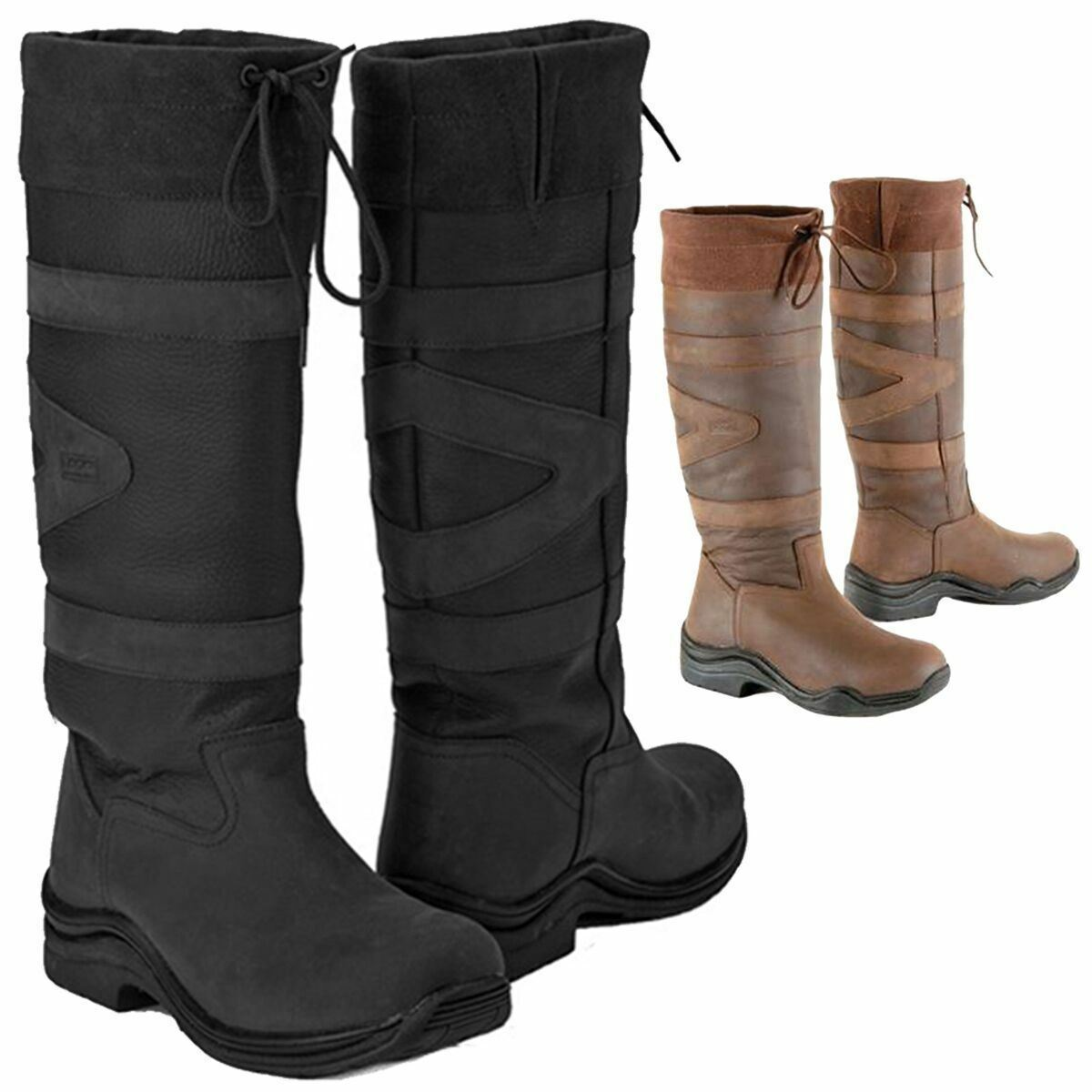 TOGGI EQUESTRIAN CANYON ADULTS LONG  RIDING COUNTRY WALKING BOOT ALL SIZES 36-43  quality assurance
