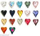 Swarovski Crystal Element 6240 Wild Heart Love  Pendant Charm Many Color & Size