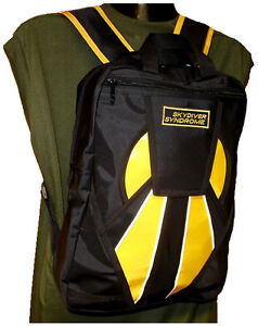 Skydiver-Syndrome-Backpack-Parachute-Mini-Container-Rig-Gym-Book-Bag-Yellow-S05