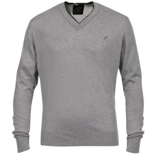 Henleys Premium Ardboe Mens 5 XXL LS V-Neck Top BNWT New Jumper T-Shirt 2XL xl