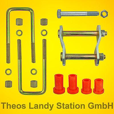 Montage Kit ab 2006 TD Blattfeder MITSUBISHI  L200 TYP KAOT 2.5D 5+1 Platt