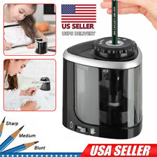 Electric Pencil Sharpener Automatic For Home School Office Kids Battery Operated
