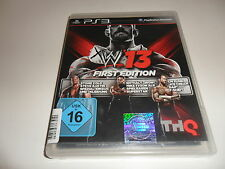 PlayStation 3 PS 3 WWE 13-First Edition