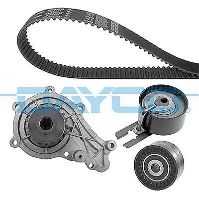 Pour Ford Focus MK2 Fiesta MK5 C-MAX 1.6 TDCi Courroie De Distribution /& Kit Pompe à eau