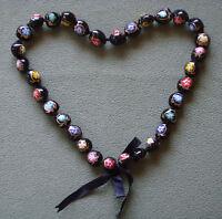 Hawaiian Polished Kukui Nut Lei Turtle Hawaii Hibiscus Heart Flower Necklace